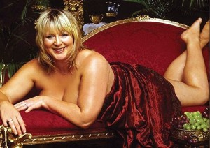 Fern Britton poses naked for calendar in 2002