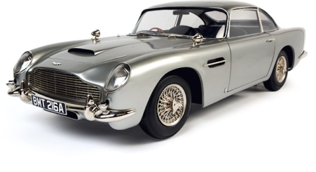 James Bond's Aston Martin DB5 from Goldfinger