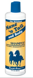 Horse shampoo for human use