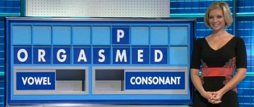 Rachel Riley Countdown orgasm