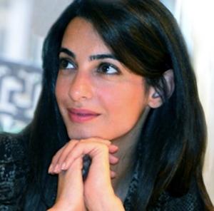Amal Alamuddin - George Clooney fiance - Hottest Female Barrister