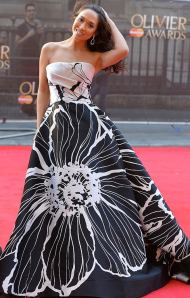 Myleene Klass at 2014 Olivier Awards