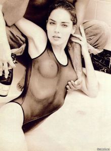 Sharon Stone at 32