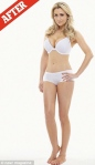 Gemma Merna - retouched photo in her underwear