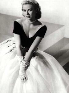 Grace Kelly looking stunning in Edith Head dress for Rear Window