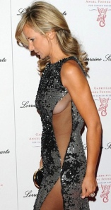 Lady Victoria Hervey shows her boobs in revealing dress at Gabrielle's Gala event May 2014