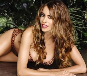 Sofia Vergara shows off curvy body and big boobs in new Kmart bikini