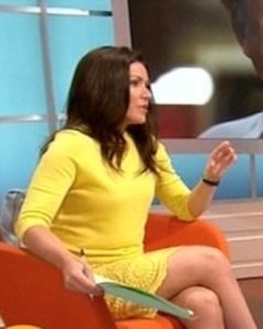 Susanna Reid flashes her legs in short dress on Good Morning Britain