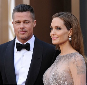 Ultimate Hollywood power couple - sexy Angelina Jolie and Brad Pitt - Brangelina