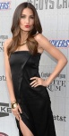 Lily Aldridge in black dress at Guys Choice Awards