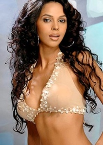 Mallika Sherawat poses in nude bra top