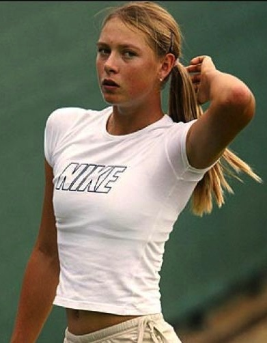 nipples Hot tennis players