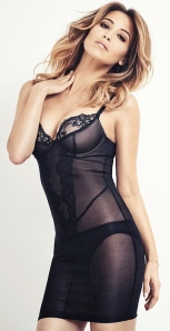 Rachel Stevens - Yummy Mummy in sexy see-through black lingerie for FHM. Sexiest Woman of all-time winner
