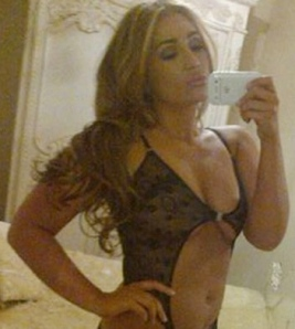 Lauren Goodger victim of sex tape filmed on mobile