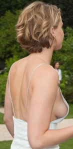 Oops! Jennifer Lawrence has wardrobe malfunction and shows her boobs