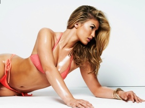 Sexy Amy Willerton oiled up in tiny bikini for FHM