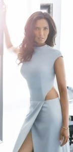 Top Chef's Padma Lakshmi in sexy outfit for Boston Common photoshoot