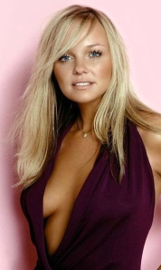 Emma Bunton sexy open top showing boobs - voted best Strictly celebrity