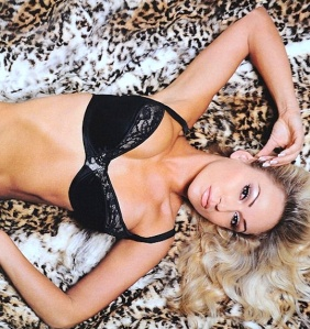 Sexy Strictly dancer Kristina Rihanoff poses in her underwear