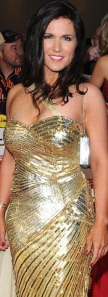 Busty looking Susanna Reid in gold dress at Pride of Britain Awards