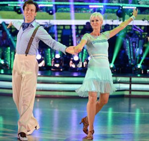 Judy Murray Not So Hot on Strictly Week 2Judy Murray Not So Hot on Strictly Week 2