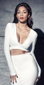 Nicole Scherzinger looking hot in new Missguided collection crop top