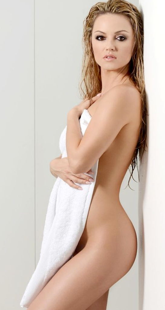 Hot nude shower
