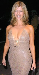 Kate Garraway showing lots of cleavage - no bra - low-cut dress. Hot older woman. Strictly Come Dancing. GMTV. Daybreak.